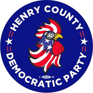 County Party Logo art by Clint Hedges