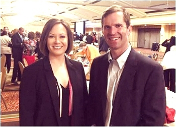 Andy Beshear & Jacqueline Coleman
